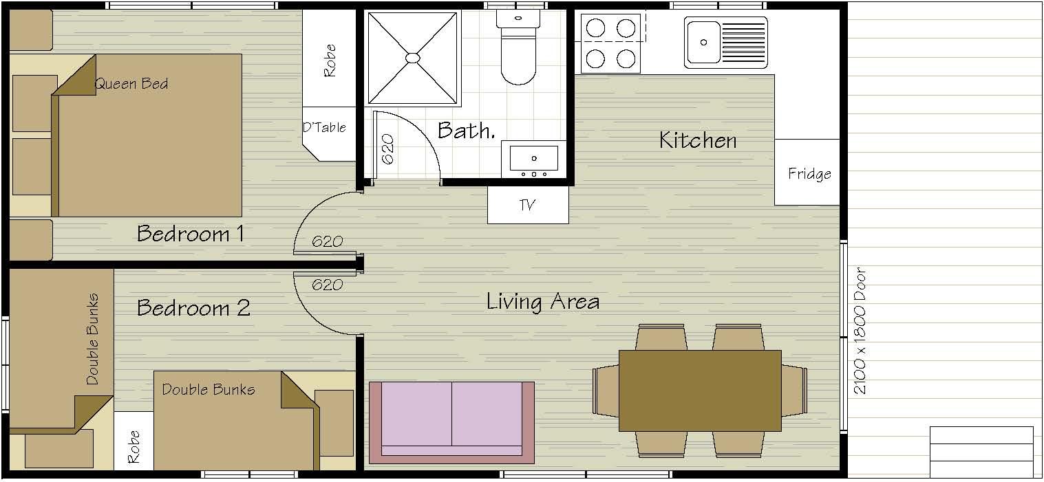 6 Berth Cabin